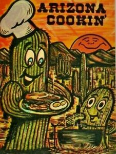 Arizona Cookin' 1976 Jean Wade Baxter Lane Amarillo Texas Vintage Made IN USA