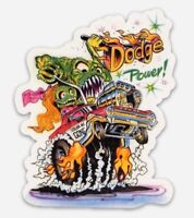 Rat Fink Dodge Coronet Dragster Color Me Gone MAGNET Muscle Car Vintage Hot Rod