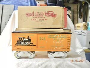 McCoy Boxcar #1009 1966 TCA Great Lakes Division Car