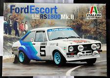 FORD ESCORT RS1800 MkII - 1:24 Italeri Kit IT3655 Hannu Mikkola 1979 NEW sealed