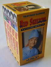 The Red Skelton Collection Boxed Set 5 VHS Tapes 50's Variety Show Music Dance