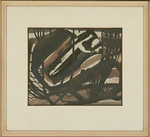 Reginald James Lloyd (1926-2020) - 1965 India Ink, The Abstracted Forest