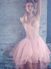 VICTORIAS SECRET🎉SALE🎉 Ballerina Corset Costume in Pink Tulle NWT SZ 34C