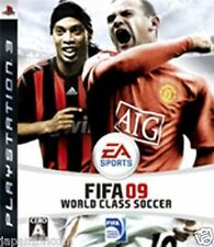 Used PS3 FIFA Soccer 09 SONY PLAYSTATION 3 JAPAN JAPANESE JAPONAIS IMPORT