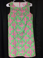 """Lilly Pulitzer"" Long Necks 'Giraffe' Print Summer Dress Size 2 - Pre-Owned"