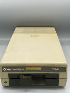 Commodore 1541 5.25 Floppy Drive. Power Tested Only No Power Cord Sold As Is