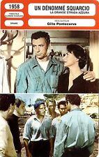 Fiche Cinéma. Movie Card. Un dénommé Squarcio (France/It/All/Youg) 1958