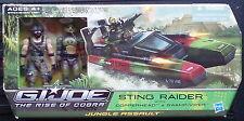 Gi joe The Rise Of Cobra Sting Raider with Copperhead & Swamp-Viper Package