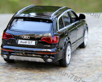 Model Cars Audi Q7 1:36 Toys Open two doors Collection&Gifts Alloy Diecast Black