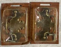 "Set Vintage Amerock T-871 3"" Cabinet Pull Drawer Antique English Hardware H32"