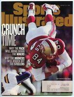 SI: Sports Illustrated January 12, 1998 Brent Jones, Football, SF 49ers, GOOD