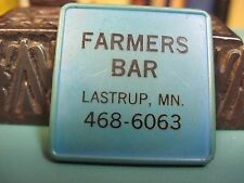 LASTRUP MINNESOTA MN GOOD FOR IN TRADE TOKEN MERCHANTS FARMERS BAR SALOON