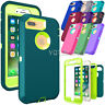 For iPhone 6 7 8 Plus Case Cover Protective Hybrid Rugged Shockproof Rubber Hard