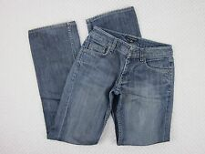 Banana Republic Womens Size 0 Jeans Low Rise Boot Cut Stretch Med Blue 26x31