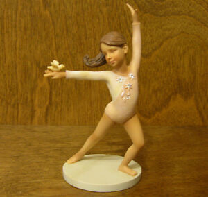 Foundations #4032047 GIRL w/ BIRD by Karen Hahn, Enesco From Retail Store BALLET