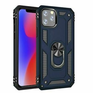 Hybrid Armor Case Cover With 360 Ring Holder For iPhone 12 PRO 11 XS 8 PLUS 7