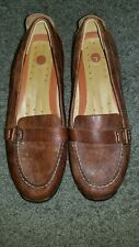 UnStructured by Clarks Brown Loafers Women's SZ 9.5 M