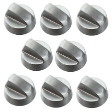 8 x Silver Oven Knobs For Baumatic Whirlpool Electrolux Hob Cooker Switch Knob