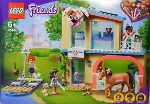 LEGO Friends 41446 Tierklinik Mia Donna Savannah Hund Pferd Katze Welpe NEU