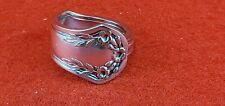 Silverplate Spoon Ring Tuck Silverwear Stylish Flatwear Fashion Band Jewelry HOT