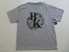 Rocawear Big & Tall Mens Size 3XB Gray Brooklyn Boys Logo Graphic T-Shirt New
