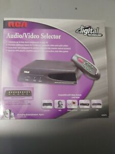 RCA VH915 Audio/Video Source Selector/Scanner New in box