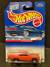 1998 Hot Wheels #661 1998 First Editions 17/40 - '70 Roadrunner - 18535