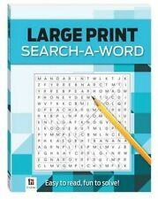 Search-A-Word 3 (Blue) Large Print Puzzles Series 4 by Hinkler Books (Paperback, 2014)