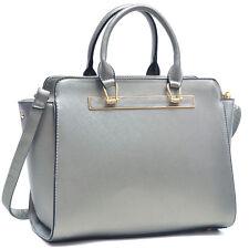 New Dasein Womens Handbags Leather Satchels Tote Shoulder Bag Designer Purse