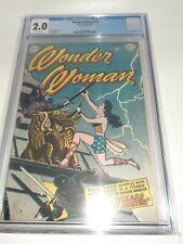 Wonder Woman #54 1952 CGC 2.0 Rare HTF DC Comics FREE SHIPPING