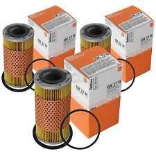 3x MAHLE / KNECHT Getriebeölfilter Ölfilter für Automatikgetriebe OX 17D