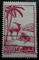 Morocco :1945 Local Motives 4.50 Fr. Rare & Collectible Stamp.