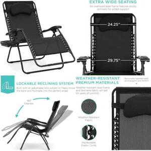 Best Choice Products Oversized Zero Gravity Chair, Folding Outdoor Patio Lounge