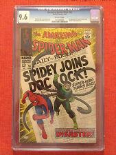 AMAZING SPIDER-MAN #56 CGC 9.6 DOC OCT STAN LEE ROMITA 2ND HIGHEST