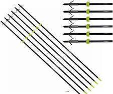 Bowfishing Arrows Hunting Arrow Fishing Broadhead Points & Safety Slides 8mm