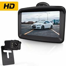 Wireless Reversing Camera Kit and Monitorregistration  Plate Mounted HD Digital