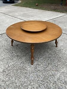 Ethan Allen Baumritter Heirloom Maple Retro Mid Century Modern Coffee Table