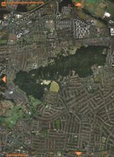 ABBEY WOOD SE2. Lessness Bostall Woods East Wickham Bexleyheath 2000 old map