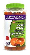 Member's Mark Adult Multi Vitamin Gummies Great Tasting Fruit Pectin Gummy