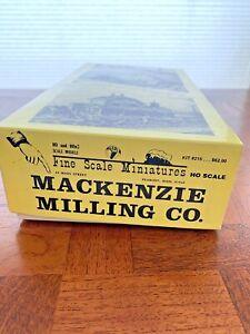 HO Scale FSM Fine Scale Miniature 215 Mackenzie Milling Co NOS Wood Building Kit