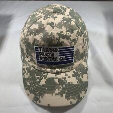 Trench Plate Rental Digital Camo Headmost Baseball Cap Hat NWOT