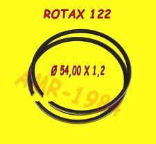 SEGMENTS PAIRE pour PISTON ORIGINAL APRILIA RS 125 ROTAX 122 0215672 ø 54x1,2mm