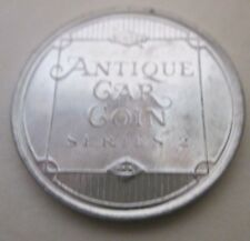 VINTAGE ANTIQUE CAR COIN SERIES SILVER TONE TOKEN 1921 DUESENBERG STRAIGHT
