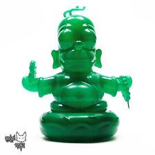 """Homer Buddha Jade 3"""" Figure by Kidrobot - The Simpsons x IamRetro Brand New"""