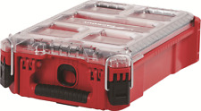 Milwaukee PACKOUT COMPACT ORGANISER 240x390x110mm 5-Removable & Mountable Bins