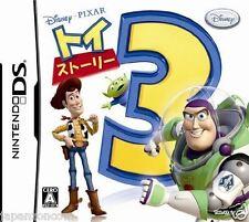 Used DS Toy Story 3 Disney  NINTENDO JAPANESE IMPORT
