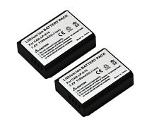 New 2x Rechargeable Battery + Charger LP-E10 For 1200D Rebel T3 1100D Kiss X50