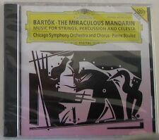 BARTOK B. - THE MIRACULOUS MANDARIN - BOULEZ - CD Sigillato DG