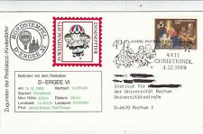 Austria 1989 Balloon Post Christkindl Cover VGC