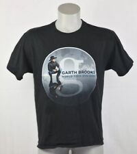 Garth Brooks 2014 World Tour Concert country music photo t shirt size S/P/Ch
